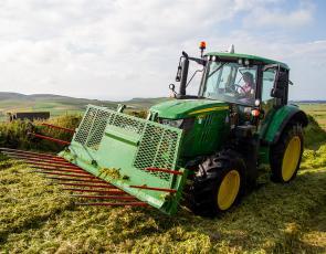 Kirsty Budge of Bigton Farm, Shetland. Crown copyright. Photographer - Barrie Williams.