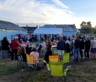 Community land week event in Findhorn