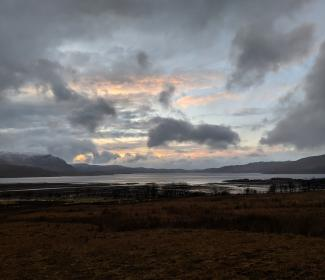 View from Torridon, Wester Ross