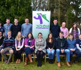 Group of young farmers