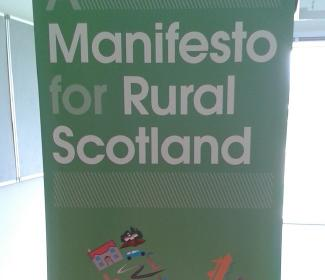 Manifesto for Rural Scotland pop up