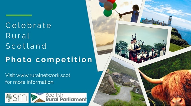 Celebrate Rural Scotland photo competition graphic