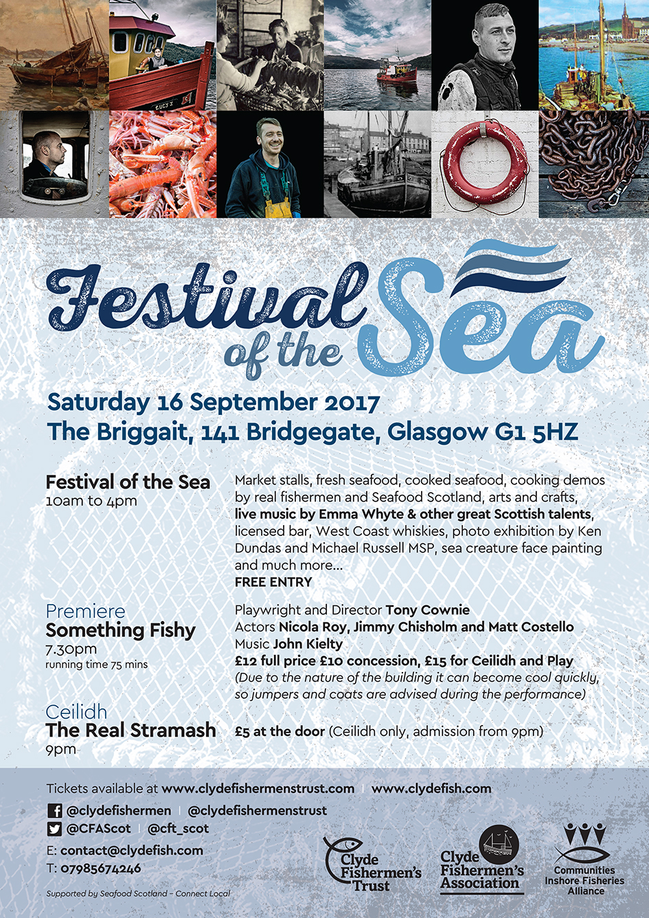 Festival of the Sea flyer