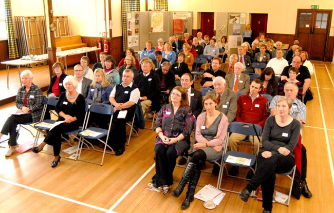 People at Moray LEADER event