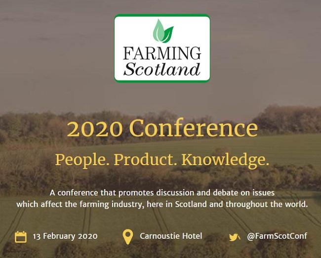 Farming Scotland Conference poster