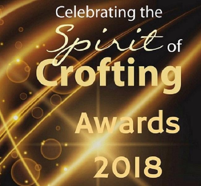 Logo for Spirit of Crofting 2018 awards