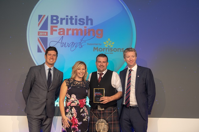 Andrew and Aileen Marchant at British Farming Awards