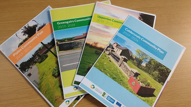 Copies of four action plans