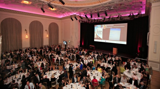 Previous charity awards ceremony