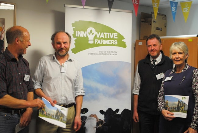 Launch of Innovative Farmers project