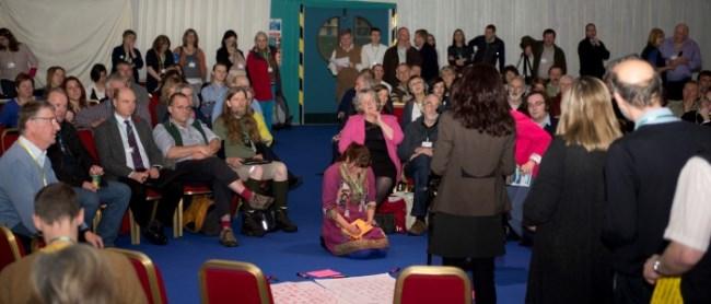 Participants at Scottish Rural Parliament