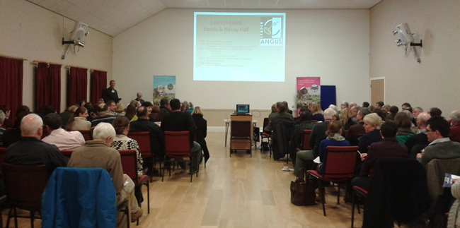 Presentation at Angus LEADER launch