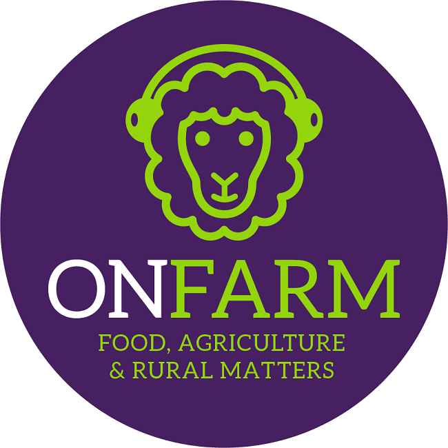 onFARM podcast logo