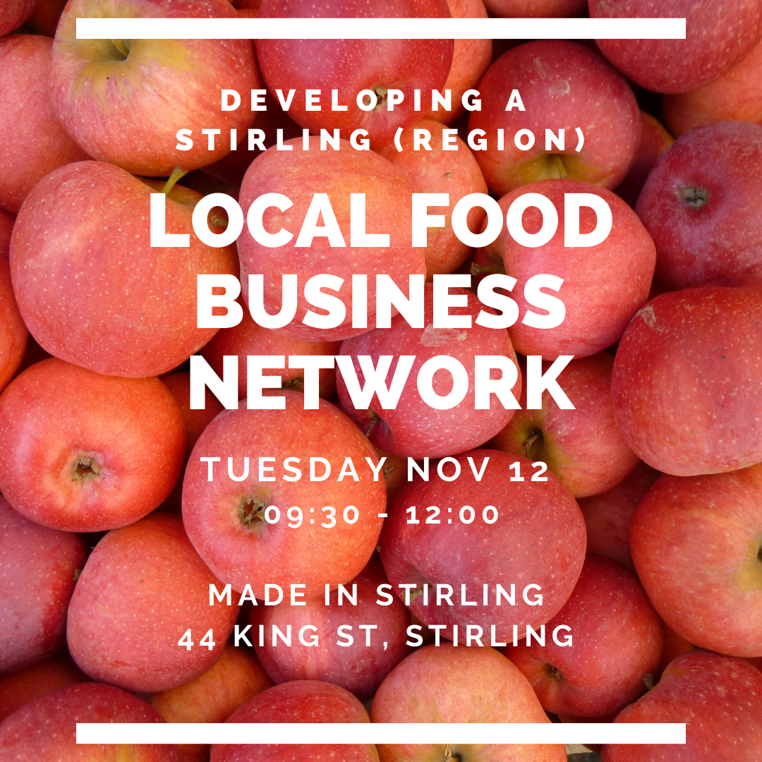 Local Food Business Network event graphic