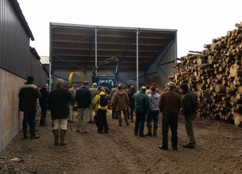 Woodchip demo