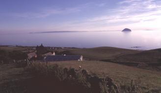 Ayrshire coastal landscape
