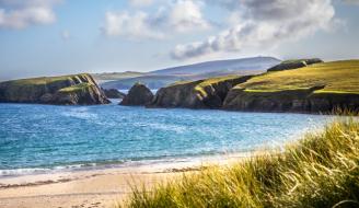 Shetland coastal landscape