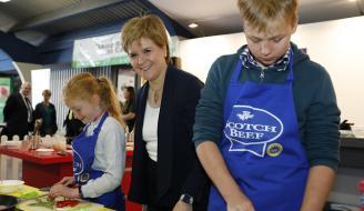 First Minister Nicola Sturgeon at Royal Highland Show