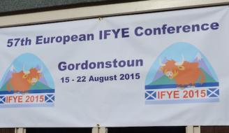 International Farm youth Exchange banner