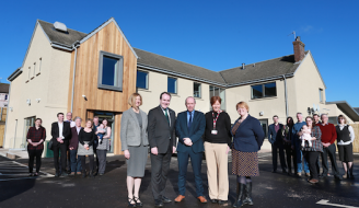 Community Empowerment Minister Marco Biagi visits Bankfoot Community Futures