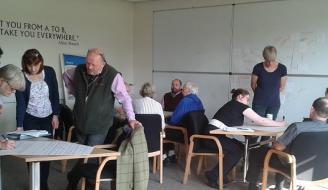Participants at Moray LAG day