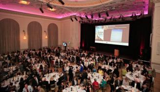 Scottish Charity Awards ceremony