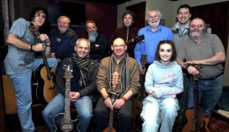 Lanarkshire Songwriters group photo