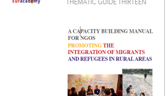 Screenshot of 'Promoting the Integration of Migrants and Refugees in Rural Areas' front cover