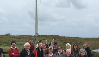 group photo of Scottish Island Federation members