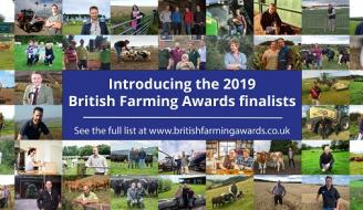 Collage of British Farming Awards finalists