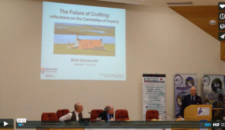 still from Future of Crofting conference video