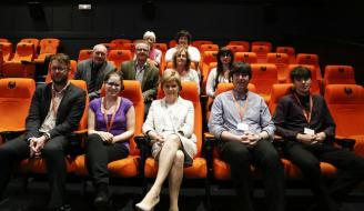 First Minister Nicola Sturgeon at Oban's Phoenix Cinema
