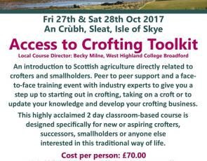 Access to Crofting Toolkit information