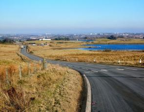 View of Eaglesham from Garret's Law