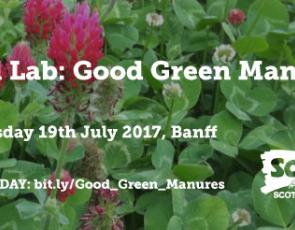 Field Lab: Good Green Manures graphic