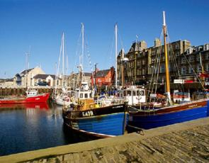 Orkney harbour
