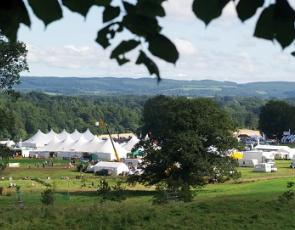 Galloway Country Fair show ground
