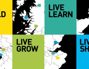 Present Voices Future Lives graphic