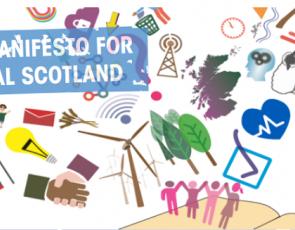 Manifesto for Rural Scotland graphic