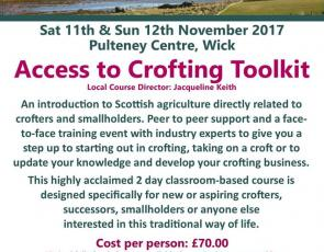 Access to Crofting Weekend