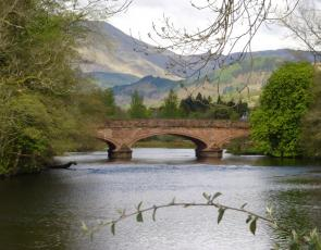 Bridge over River Teith in Callander