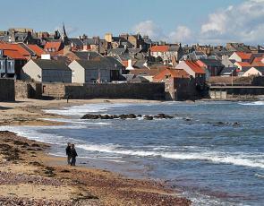 The beach at Dunbar