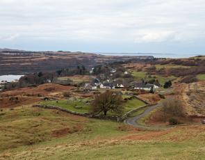 Dervaig landscape