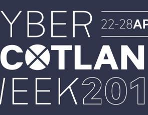 Cyber Week Scotland 2019 logo