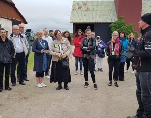 project visit at Swedish Rural Parliament