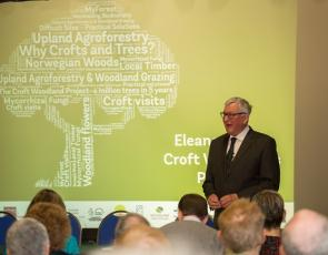 Cabinet Secretary Fergus Ewing at Crofting conference