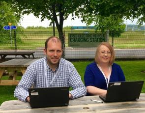 Photo of guest editors Jody Fleck and Lynn Haughton