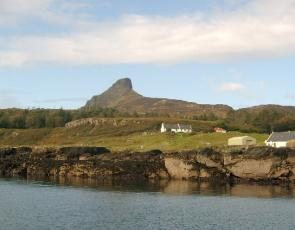 Isle of Eigg. Credit: L J Cunningham