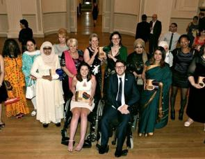 Group photo of 2016 Scottish charity Awards winners