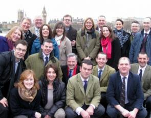 Previous participants of Rural Leadership course in London
